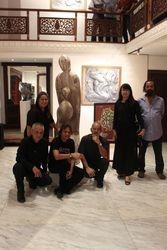 Sculpture Art  Exhibition  Langgam Logam, Sihir Batu