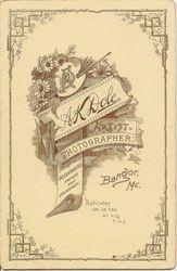 A. K. Dole, photographer, of Bangor, ME