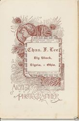 Chas. F. Lee, photographer of Elyria, OH