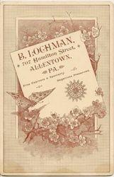 B. Lochman, photographer of Allentown, PA