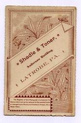 Shadle & Toner, photographers of Latrobe, PA