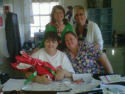 Agape' Hospice gives Palmetto Village - A Very Merry Christmas