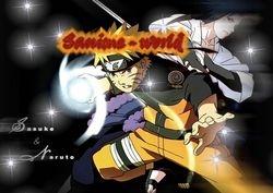 sanime-world naruto vs sasuke