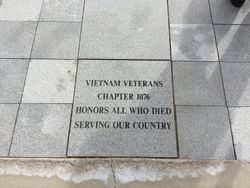 DEDICATION PAVER