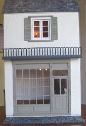 The outside of my Julie Bennet dolls house