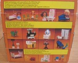 Back of Mattel The Littles Box