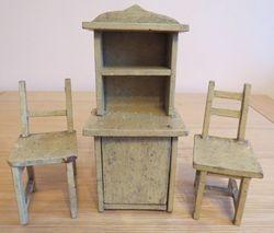 Kitchen Cabinet & Chairs