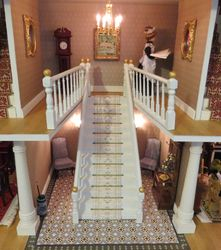 Finished Hallway and Staircase