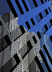 Blue Building Reflection by Annette VanLengerich (HM)