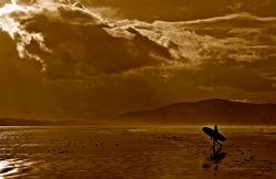 Surfer by Elaine Allen (AC)