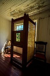 Old Confessional by Terry Sposito (AC)