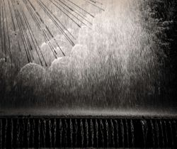 Fountain Light by Marilyn Lamoreaux (AW)