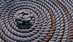 Coiled Rope by Elaine Allen (AC)