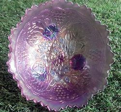 "Lotus & Grape Lavender 6"" Bowl"