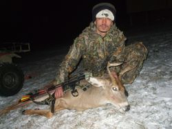 SHAWN'S 08 BOW BUCK SHOT NEW YEARS EVE