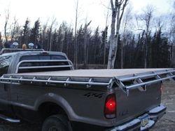 Triple dove tail deck