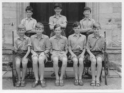 Newells School Shooting VIII - July 1966 -back row right - Chris Blakeway
