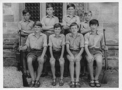 Newells School Shooting VIII - July 1967 - front row right - Chris Blakeway