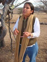Rossanna Quiroz Ennis of the Anthropological Institute of UNAM