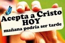 Acepta a Cristo HOY