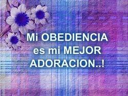Obediencia al Señor