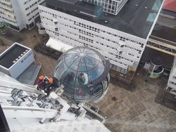 The Globe Arena Skyview