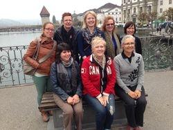 Fan club photo in Lucerne