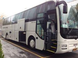 Our fantastic tour bus