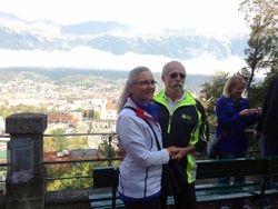 Nancy and Brett-Innsbruck sightseeing