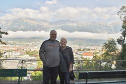 Dave and Sharon-Innsbruck sightseeing