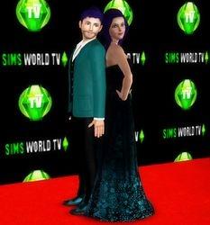 Dreenz on Sims World TV Premier Red Carpet #1