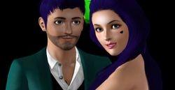 Dreenz on Sims World TV Premier Red Carpet #3
