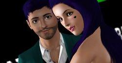 Dreenz on Sims World TV Premier Red Carpet #4