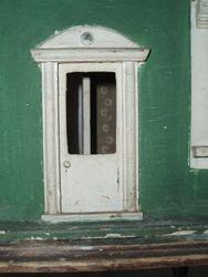 Front door in tact