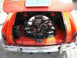 1960 Karmann Ghia Engine...