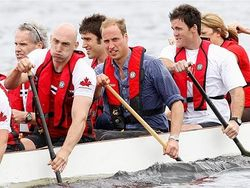 Prince Wills the Paddler