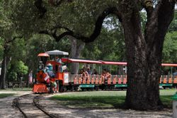 Train ride in Land Park