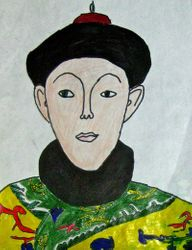 "Dylan Dong, age 9, ""Emperor Qianlong"""