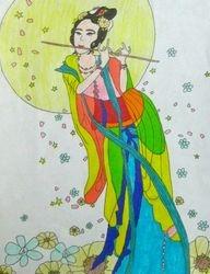 "Emma Schoen, age 11, ""Chang-e, the Lady of the Moon"""
