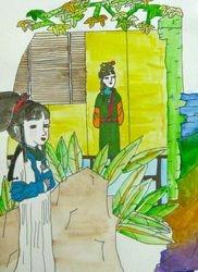 """Jenny Lu, age 10, """"Chinese Romance Story"""""""
