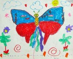 "Tori Xiao, age 5, ""Butterfly Kite"""