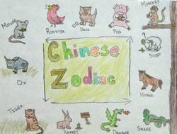 "Ellen Okamura, age 10, ""Chinese Zodiac"""