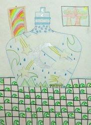"""Haena Lee, age 9, """"Chinese Vase"""""""