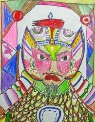"Jonathan Xu, age 8, ""Chinese Warrior"""