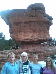 In Front Of Balanced Rock