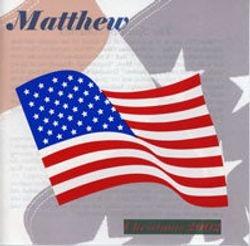 Matthew's 3rd CD