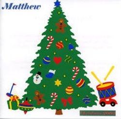 Matthew's 4th CD