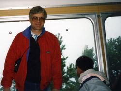 Dad On Cog Railway