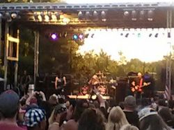 Warrant On Stage