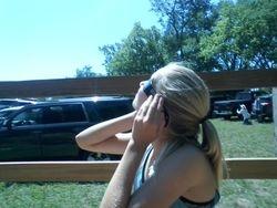 Zoey On Hay Shuttle